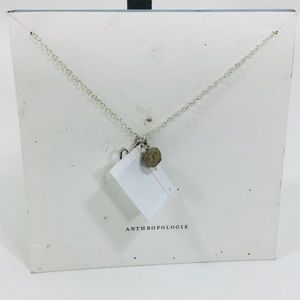 Anthropologie Rock, Paper, Scissors Necklace